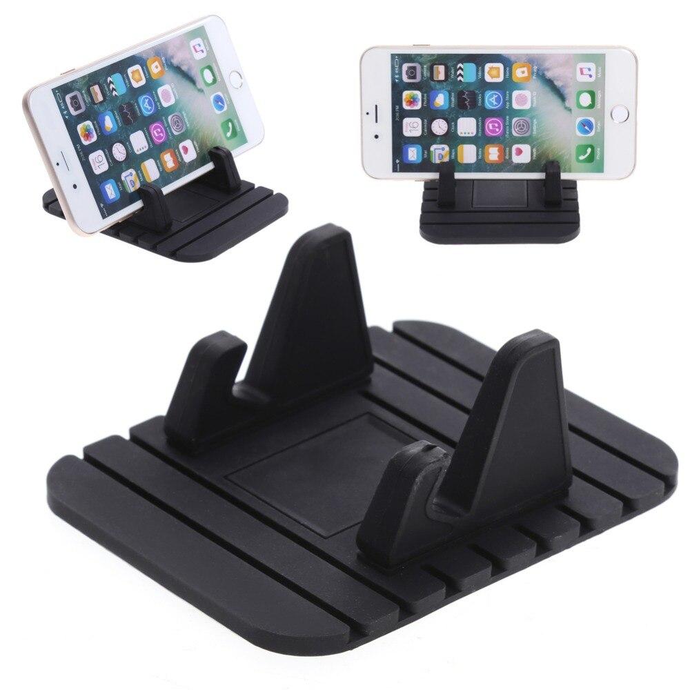 Multifunctional Vehicle Mounted Mobile Phone Navigation Support Holder Car Dashboard GPS Desktop Stand Bracket For Smart Phones