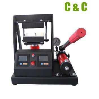 12x12cm(5x5inch) MP170-2 Rosin Heat Press Machine 10,000PSI Pressure 10Tons Manual Hydraulic LCD Control Samll Rosin Press Heat Machine - DISCOUNT ITEM  0% OFF All Category