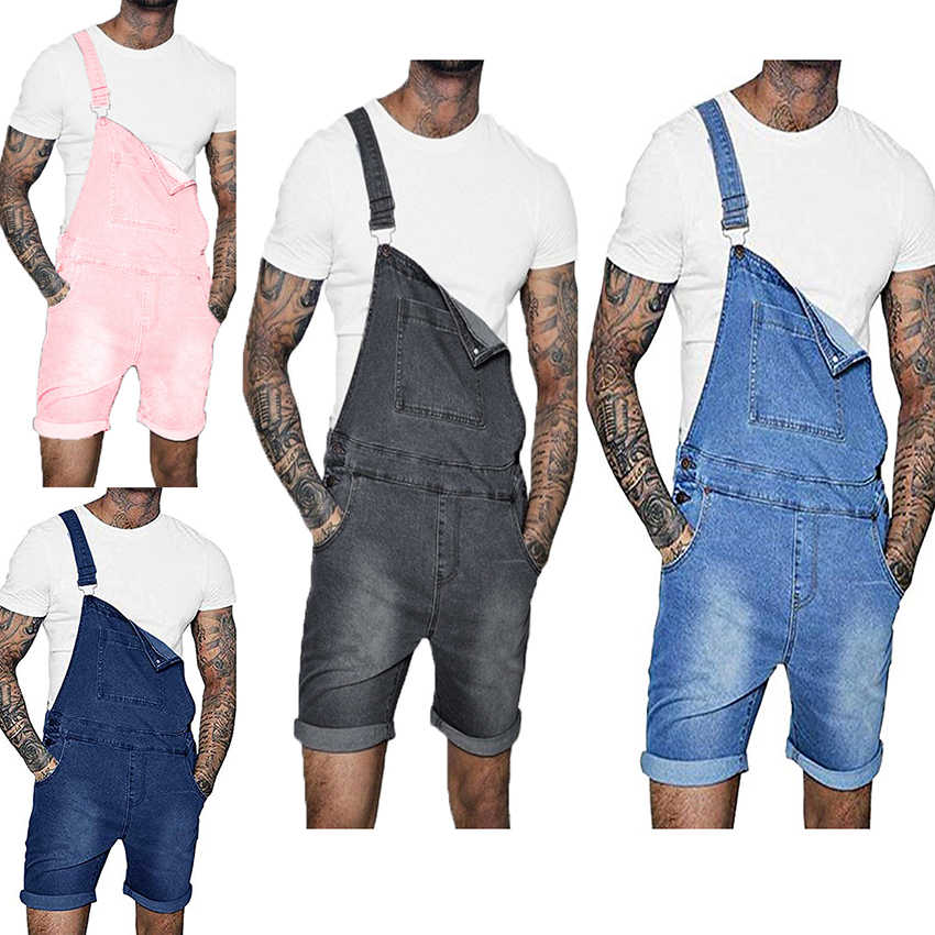 High Quality Men's Jeans Slim Overall For Men Belt Trousers Leisure Summer Male Wear Hipster Fashion Pants Men Stylish Pants