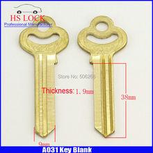 Flower 3 » candado grande doble House Home Door clave en blanco suministros de cerrajería llaves en blanco cilvil Horizontal clave máquina A031