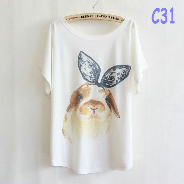new arrival fashion style female ladies' t-shirt plus size summer bowknot pet dog t shirt free shipping  C31