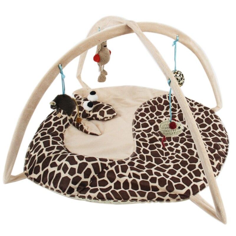 Betten Matten Traing Tortorise Pet Bett Spielzeug Handy Aktivität Spielen Katze Hund Welpen Häuser Pad Decke Haus Katze Zelt spielzeug Für haustiere
