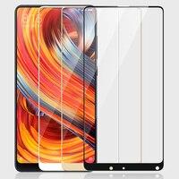 3D Gehärtetem Glas Für Xiaomi Mi Mix 2 Full Screen abdeckung explosionsgeschützte Displayschutzfolie Für Xiaomi Mix 2 S Mix2 Mix2S