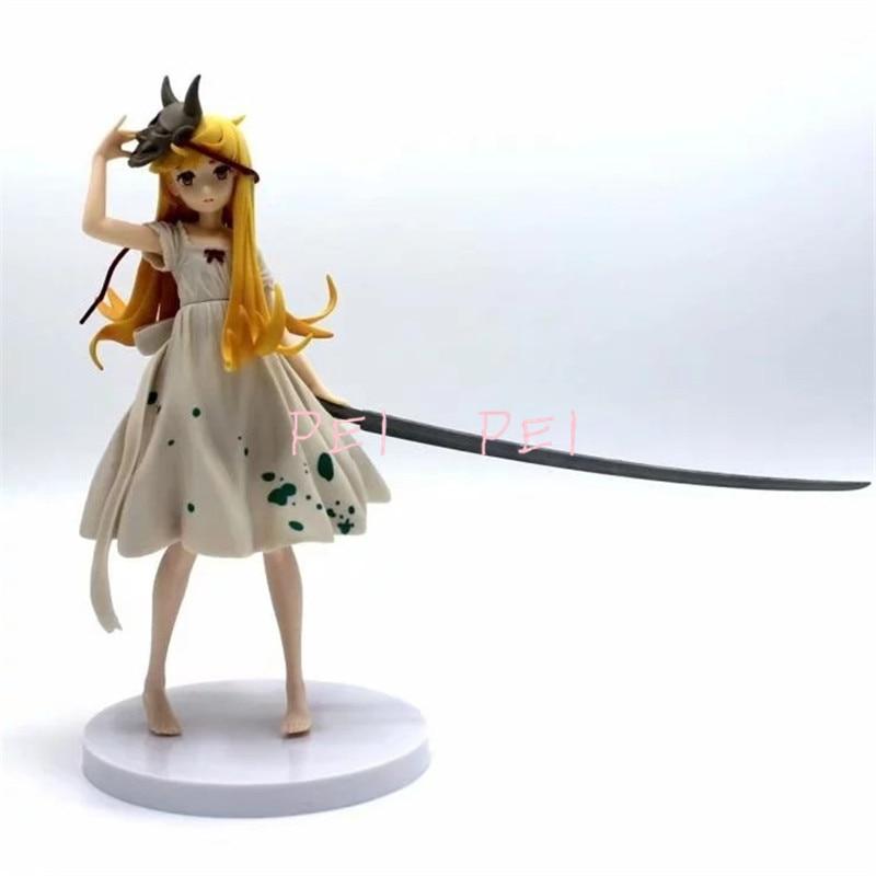 EXQ Monogatari Oshino Shinobu Bakemonogatari Figure Collectible Model Toy No box