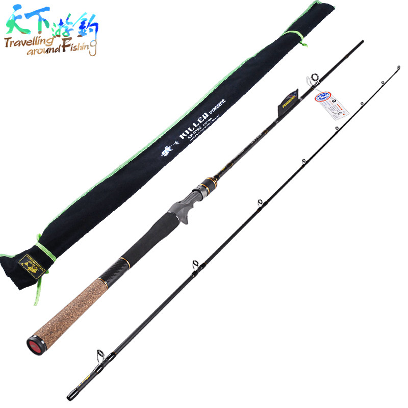 Casting Fishing Rod 2 Section 2.1m Power:M IM7Carbon 99% FUJI Guide Ring Lure Rods Vara De Pescar Canne A Peche Fishing Tackle trulinoya casting fishing rod 99% carbon fiber 1 98m carp fishing sea rod 2 section ml power f taper rod with case elc662ml