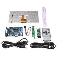 1Set Raspberry Pi 7 Inch Raspberry Pi LCD Touch Screen Display HDMI HD 1024x600 Touch LCD
