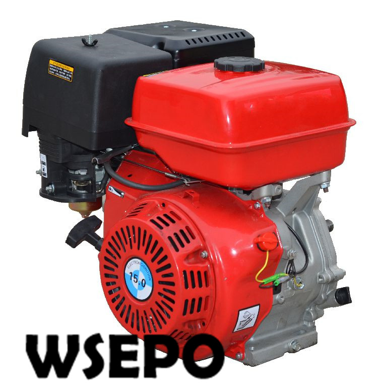 Factory Direct Supply WSE-192F(GX440 Type) 17HP 440CC Air Cool 4 Stroke Gas Engine,used for Gokart/Water Pump/Genset/Road Cutter mig mag burner gas burner gas linternas wp 17 sr 17 tig welding torch complete 17feet 5meter soldering iron air cooled 150amp