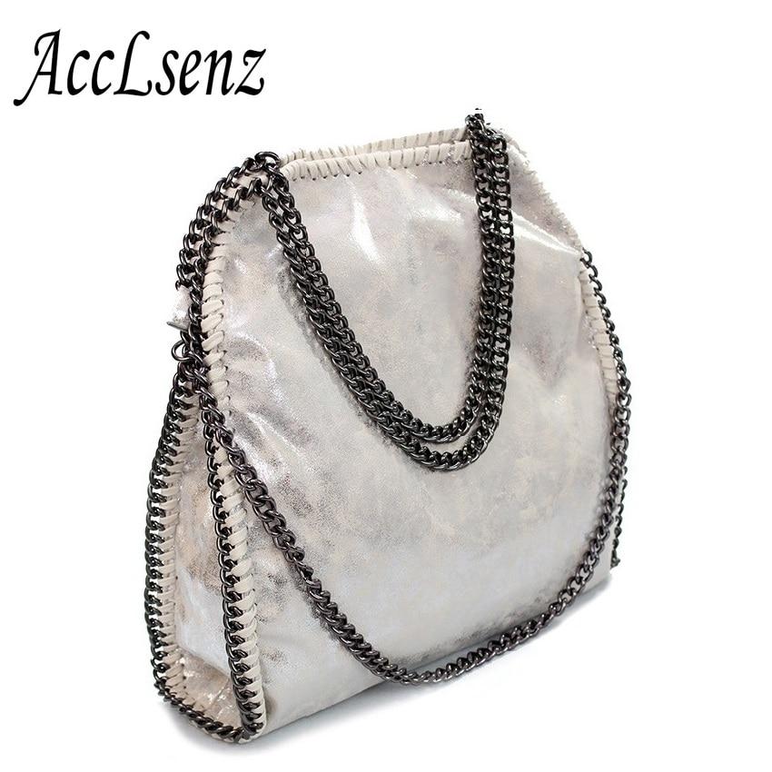Women Handbag 2018 Vintage High Quality PU Leather Fashion Portable Chain Large Bags Women Messenger Bags Ladies Shoulder Bags