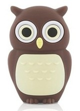Owl 4gb 8gb 16gb 32gb 64gb usb flash drive memory stick