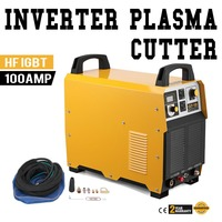 100 Amp Plasma Cutter Pilot ARC 380V Plasma Cutting Machine 35mm Cutting Thickness Portable Plasma Welder IGBT Inverter Plasma Welders    -
