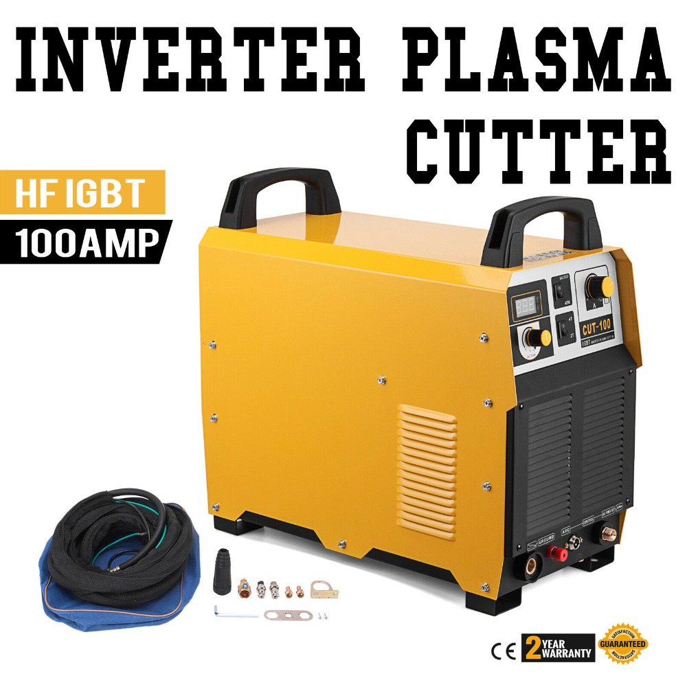 100 Amp Plasma Cutter Pilot ARC 380 V Plasma Schneiden Maschine 35mm Schneiden Dicke Tragbare Plasma Schweißer IGBT Inverter