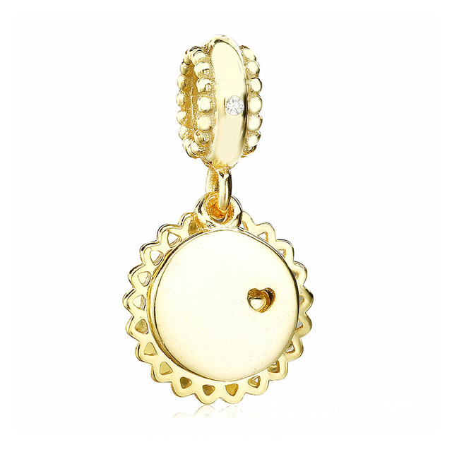 784e79ff2 ... pandora shine yellow enamel fddb2 ee92d; low cost 2018 spring 925  sterling silver bead gold you are my sunshine pendant charm fit