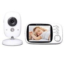 3.2 inch vigilabebes 603 Spanish Menu IR Night vision 2 way talk 8 Lullabies Temperature monitor video nanny fetal vigila bebes