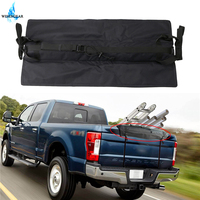 27.6Inch Black Tailgate Rack Pad w/ Straps For Ford F150 For Dodge Rams Mid Pickup Trucks Tailgate Protector Pad Cushion Mat /