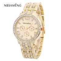 Quartz Watch Women Not Waterproof Silver And Gold Rose Gold Giamond Watch Business Men Watch Diamond