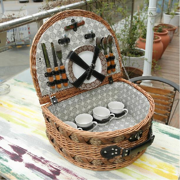 online buy wholesale wicker picnic basket from china