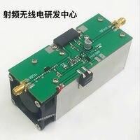 New High quality 433MHZ 350 480MHZ 13W UHF RF Radio Power Amplifier AMP DMR with heatsink