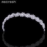 M Mjewelry Trendy Elegant Charming Tiara Crown Crystal Rhinestone Flower Girls Bridal Bridesmaid Wedding Hair Accessories