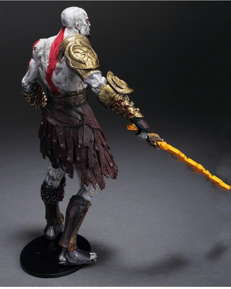 GZTZMY NECA God of War 2 Figures Kratos Action Figure Kratos in Golden Fleece Armor with Medusa Head Toy for kids gifts (2)