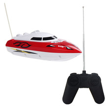 Hot  Fashion 10 inch RC Boat Radio Remote Control RTR Electric Dual Motor Toy Birthday Gift For Children Toys Wholesale