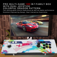 Newest for Pandora 6S 1388 Classic Game Console 2 Players Control Retro Arcade Game Box For Home Party/KTV/Bar Or Gift