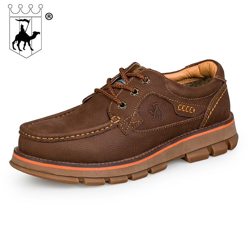 Aumento Ao Brown Couro Camada De Respirável Nova Sapatos Homens Dos dark Ar Grosso Livre Brown Marca Fundo Tendão redbrown Primeira Light CqT0xxwSv