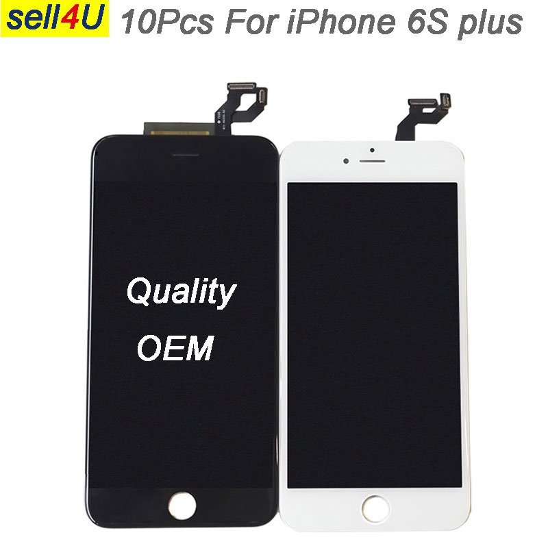 10Pcs OEM For iPhone 6S plus LCD screen , display with 3D Touch Digitizer  assembly for iphone 6S plus replacment10Pcs OEM For iPhone 6S plus LCD screen , display with 3D Touch Digitizer  assembly for iphone 6S plus replacment