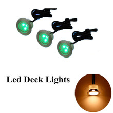 10pcs deck lights for railings  outdoor waterproof for stairs low voltage home depot Pathway Yard Patio Stairs Step and Fences все цены