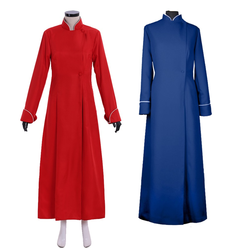 Cosplaydiy Custom Made Winchester Cathedral Choir Cassock Robe Costume Adult Cassock With Piped Cuffs And Collar L320