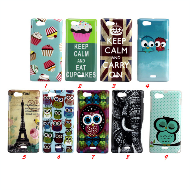 elephant Hard Cover Case for Sony Xperia J / ST26i MOQ 1PC-in Phone ...