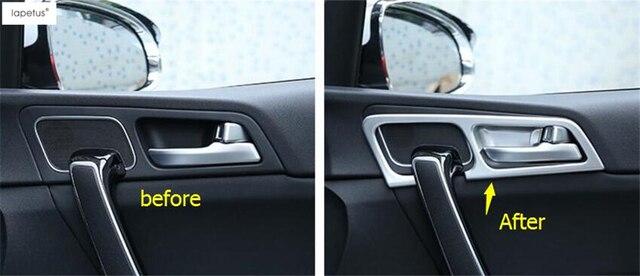 Abs accesorios para kia sportage 2016 2017 mate estilo interior puerta del coche manija - Accesorios coche interior ...