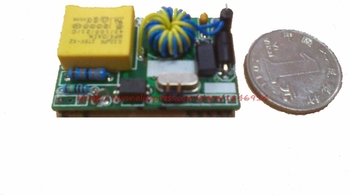 Power supply available SENS-00 power line carrier module / without any peripheral devices / ultra small size power transmission capability improvement by power devices