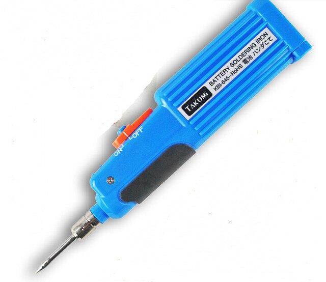 КБИ-645 Батареи Паяльник 6 Вт 4.5 В Беспроводной электрический утюг паяльник для ремонта помощник