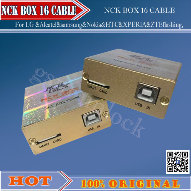 The newest vesion NCK Box For LG &Alcatel&samsung&Nokia&HTC&XPERIA&ZTEflashing, software repair and unlocking pack with16cables