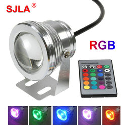 Outdoor lighting waterproof ip65 underwater pool lamp remote control rgb 220v 110v 12v led flood light.jpg 250x250