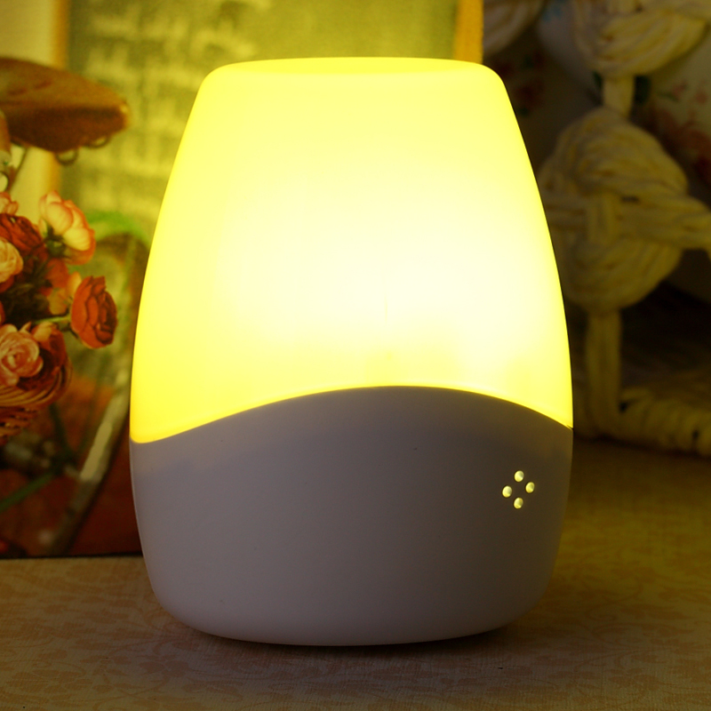 Silver products induction energy-saving bedside wall LED intelligent light control feeding baby voice Nightlight