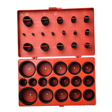 419pcs Universal O Ring Metric Washer Seals Watertightness Assortment Kit for Automotive Mechanics O-ring Rubber Silicone Gasket kit 419pcs o ring o ring black rubber 32 sizes with case 3 50mm