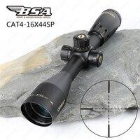 BSA Catseye 4-16X44 SP Охота оптика прицелы сбоку Параллакс Mil-dot Сетка башенки замок интегрированной навес прицелы