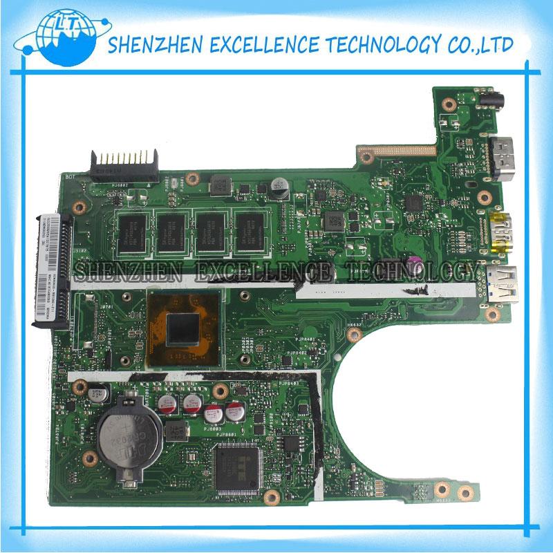 For ASUS X200MA laptop motherboard Non-integrated 2830U 2815U REV2.1 X200MA 4GB Main board DDR3 90NB04U1-R00030 Free Shipping kicx stq 302bpa