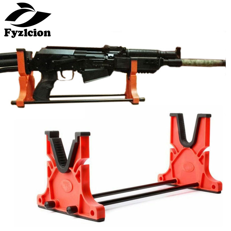 Hunting Cleaning & Maintenance Cradle Shot Gun Smith Bench Rest Stand Rifle Holder Tool Rack