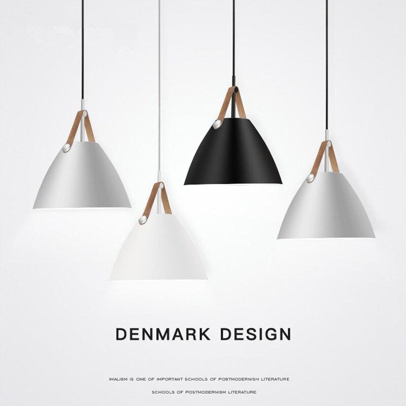 Modern Pendant Lights Aluminum LED pendant lamp Kitchen Fixtures For Living Room Restaurant Light Ceiling Lamp Indoor Lighting