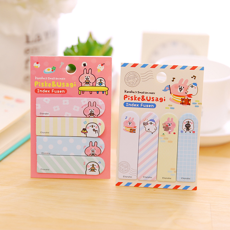 20 sets/1 lot Creative hera Rabbits Memo Pad Sticky Notes Escolar Papelaria School Supply Bookmark Post it Label