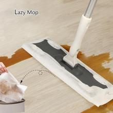Disposable Electrostatic Dust Removal Mop/Mop Paper Home Kitchen Bathroom Cleaning Cloth Tools
