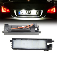 18SMD Led License Plate Light Tail Lamp Direct Fit For Toyota Auris RAV Car Styling No