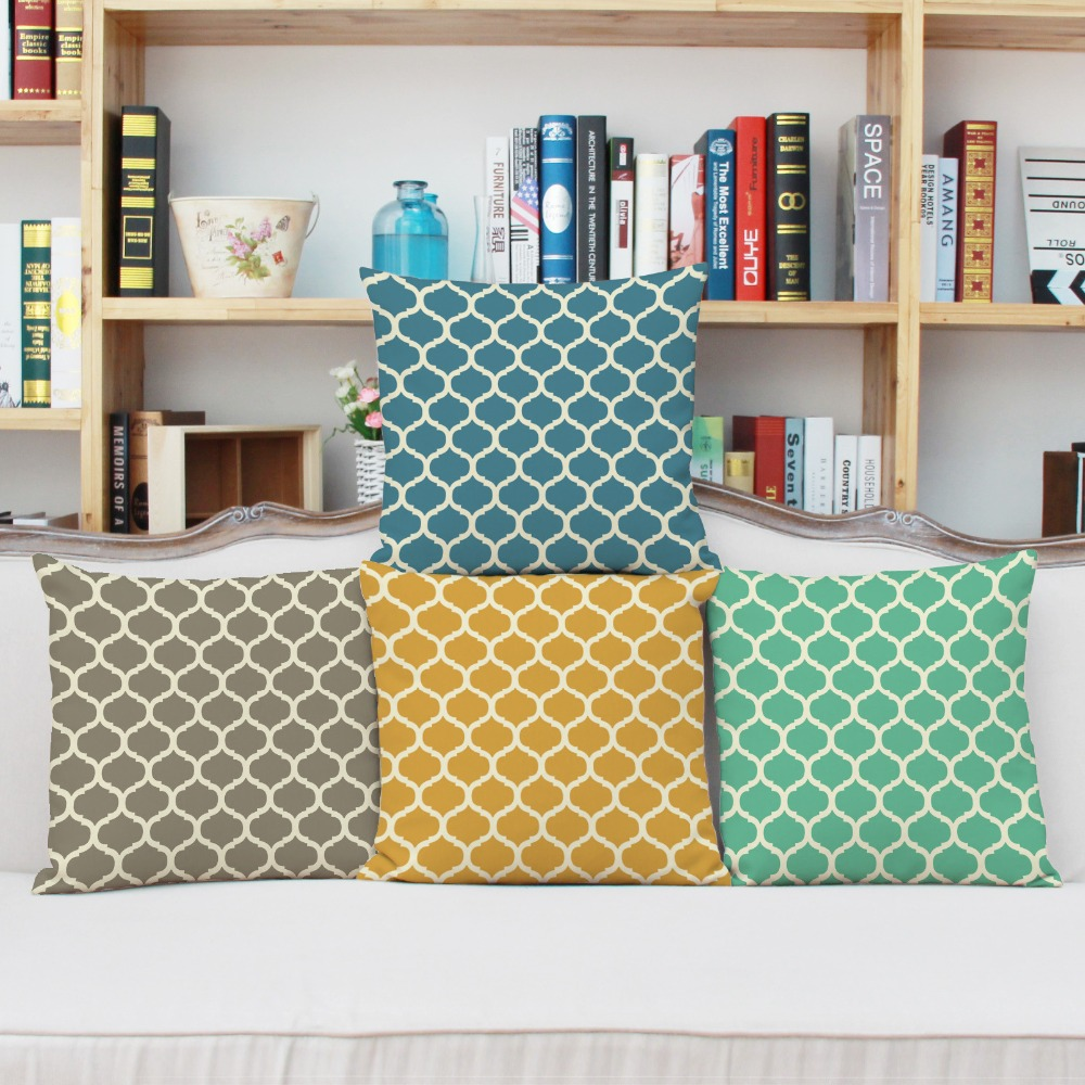 decorative office supplies. High Quality Creative Color Geometric Pattern Pillowcase Office Supplies Household Items Pillow Case Cover Home Decorative-in Cushion From Decorative D