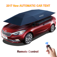 2017 New Automatic Car Tent With Remote Control Anti UV WindWindproof Sun Shelter Umbrella Awning Tent For Car DHL Free Shipping