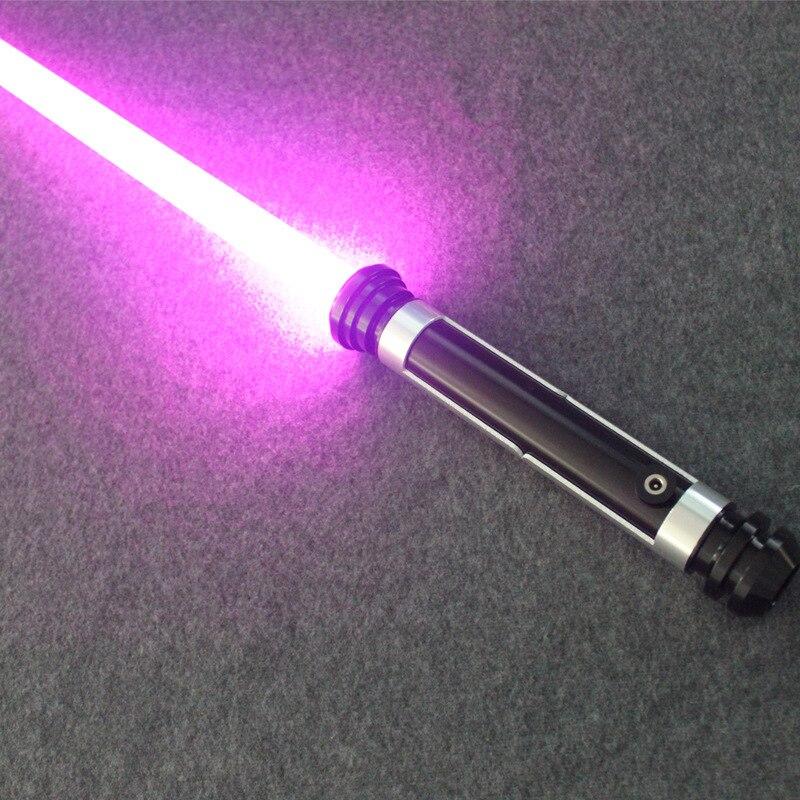 Créatif Cosplay lumière LED sabre laser dessin animé Kirigaya Kazuto élucidator lumière sabre poignée métal épée lumineux jouet cadeau