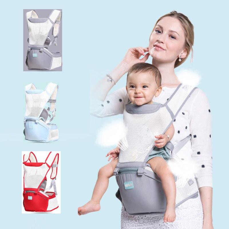 0-36 M Säuglings Kleinkind Ergonomische Baby Träger Sling Rucksack Tasche Getriebe Mit Hipseat Wrap Neugeborenen Abdeckung Mantel Für Babys Kinderwagen