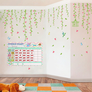 Image 4 - Time Schedule Fridge Magnet 40pcs Children Task Good Habit Magnetic Stickers Montessori Kids Early Educational Learning Toys