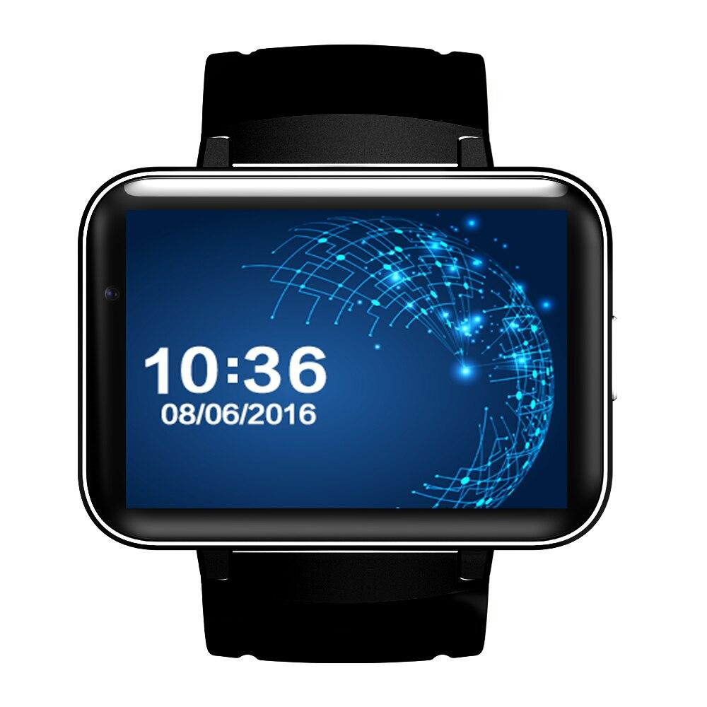 ZAOYIMALL DM98 3G Inteligente Android Relógio de Pulso Smartwatch Android 4.4 Dupla núcleo WIFI GPS Map com Chamada de Vídeo Da Câmera Para IOS XIAOMI